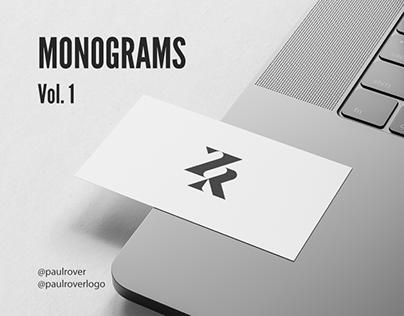 Monogram design collection
