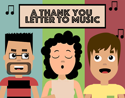 A Thank You Letter to Music - Animation