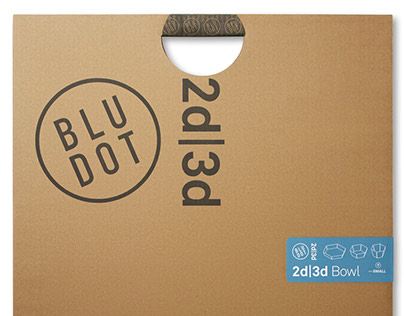 Blu Dot 2D:3D Packaging