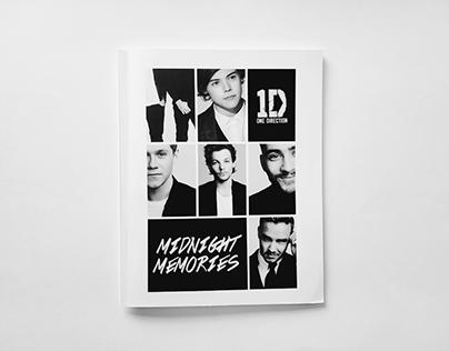 One Direction Midnight Memories Album Redesign