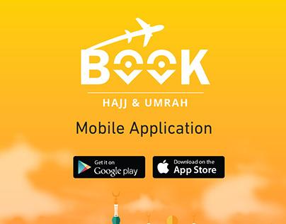 BOOK Hajj & Umrah app UI/UX