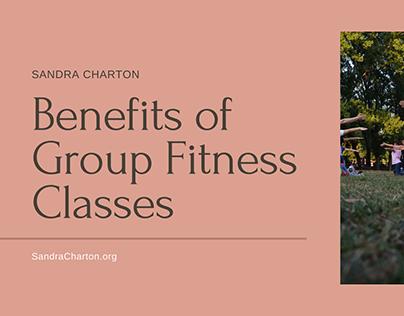 Sandra Charton | Group Fitness Benefits