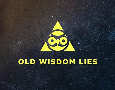 Old Wisdom Lies logo redesign
