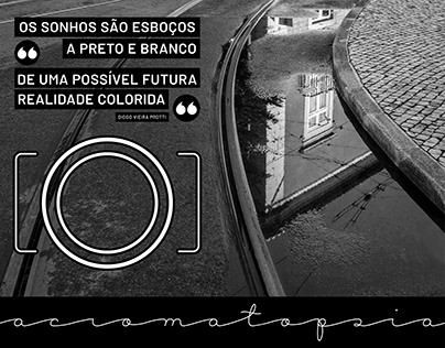 Acromatopsia | Um ensaio fotográfio B&W sobre Lisboa