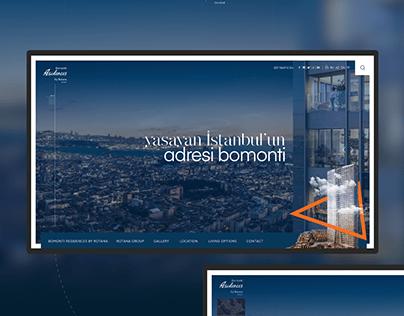 Bomonti Residences by Rotana Webdesign