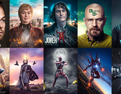 60 Fan Art Movie Posters
