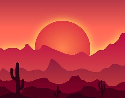 Wild West Sunrise