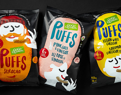 Quinoa Puffs - Gogo Quinoa