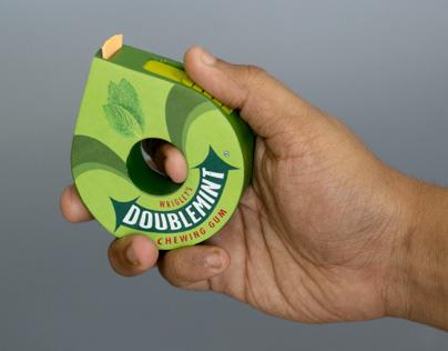 Doublemint rolling gum