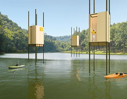 Rečna kabina / River cabin