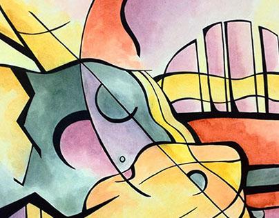 Fine Arts Paintings (Color)