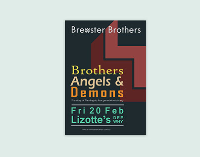 Brewster Brothers Concert Poster