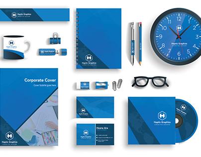 Haptic Graphics Corporate Identity
