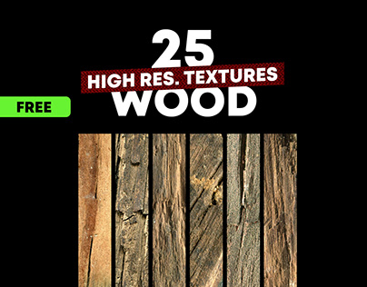 FREE TEXTURE PACK WOOD VOL.1 HIGH-RESOLUTION