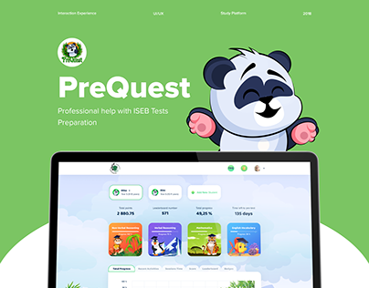 PreQuest | Educational web platform