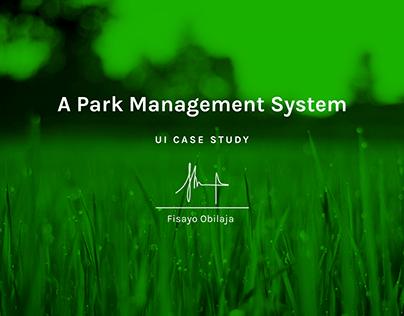 Park Management System