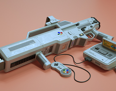 Nintendo Super FamiGUN