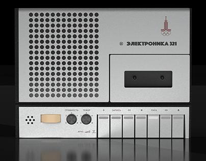 Soviet Tape Recorder