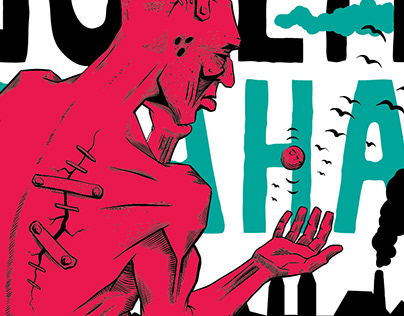 Golem Drawetc annual poster
