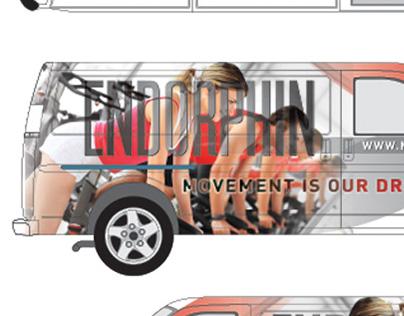 Endorphin Van Graphics