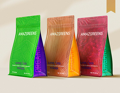 Amazgreens™ - Packaging Design