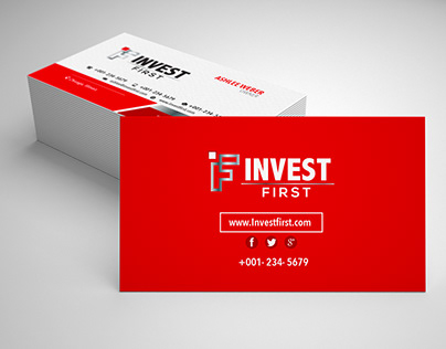 Invest First Business Cards