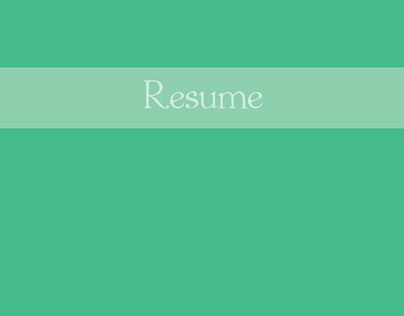 Resume - Taruna Singh