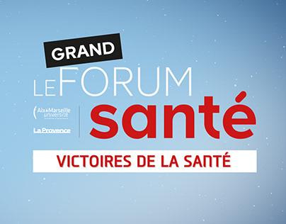 Animation / Le Grand forum de la santé