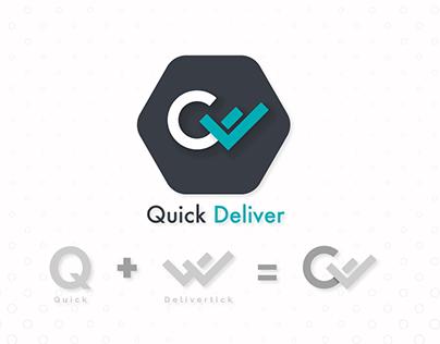 Quick Deliver logo work