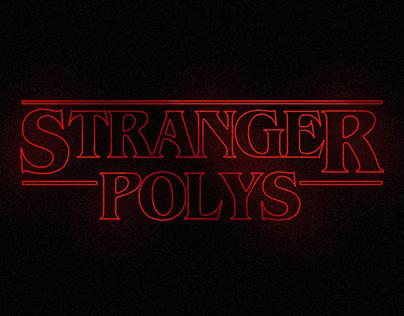 Stranger Things Low-Poly