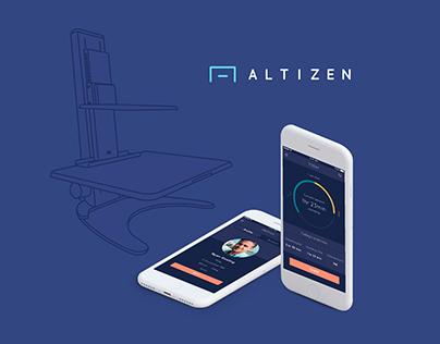 Altizen – App UI