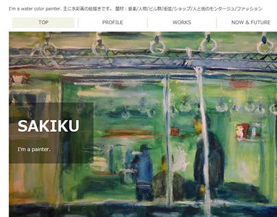 SAKIKU HOME OPEN! sakiku.jp