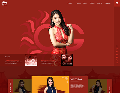 Oriental Game Revamp Mockup