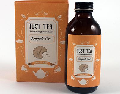 Just Tea Packaging