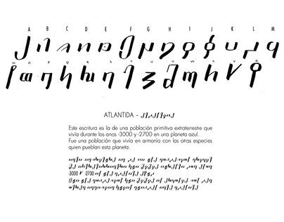 Typography - Atlantida