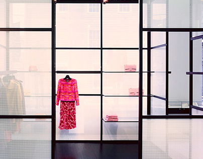 Chanel, Louis Vuitton, Dior + Armani.