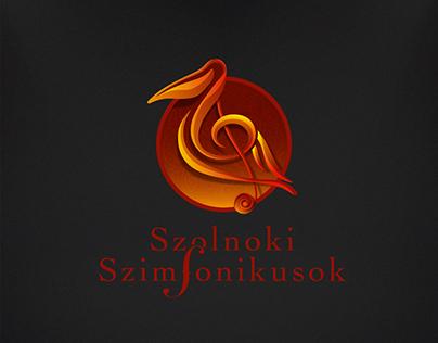 Szolnok Symphony logo design