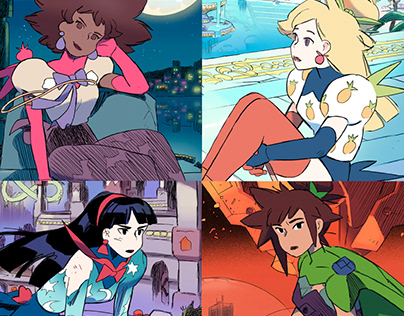 Flavor Girls (Illustration 2021)