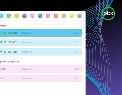 Onlinepbx – control panel