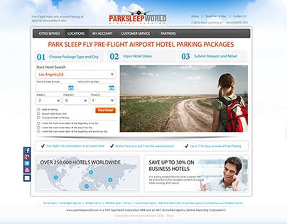 ParkSleepWorld- Traveling Website