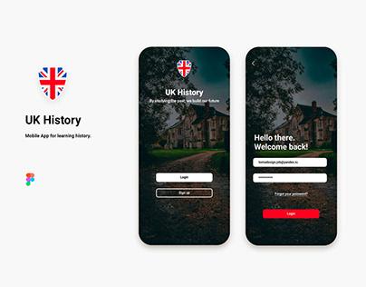 Simple Login screens for the App