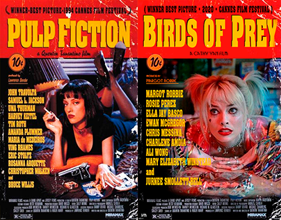 Birds of Prey: Pôsteres Tarantino