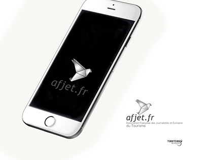 Logo | AFJET | by TERRITOIRES BRANDING
