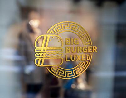 Big Burger Luxe   Brand Design