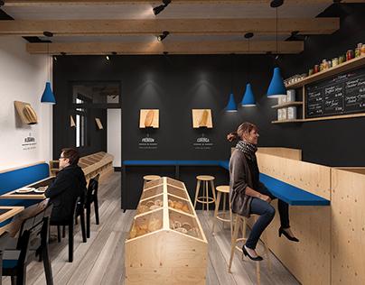 Studio Pão - Padaria Café (Acadêmico, P4)