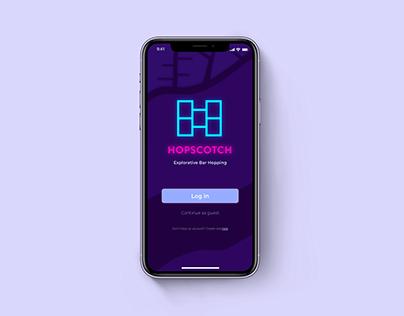 Hopscotch; Explorative Bar Hopping App
