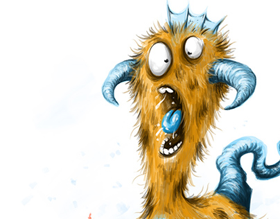 The Screaming Goozenflap - Monster Character