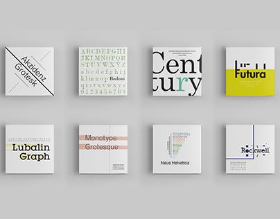 Type Specimen (covers)