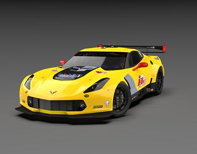 Corvette Racing Render Project