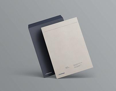 C4 Envelope Mockup